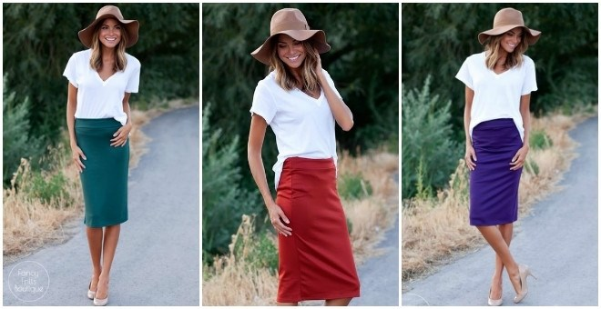 Perfect Fall Pencil Skirt!