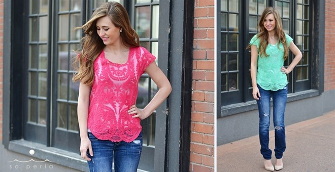 Best Selling Lace Top