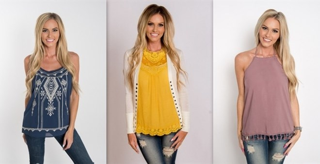 Tank and Halter Sale | 5 Styles | XS-3XL | Jane