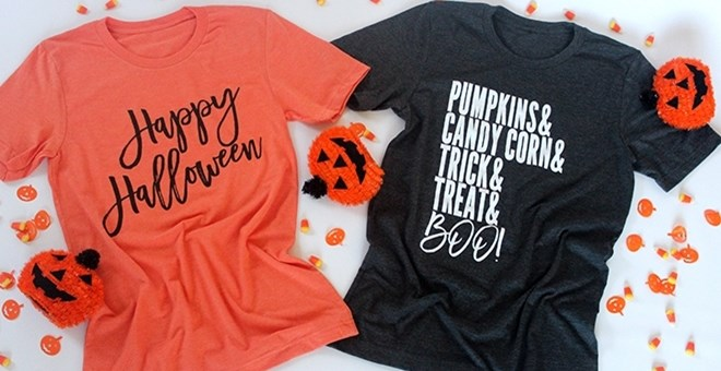 Ultra Soft Halloween Tees  | 3 Styles!