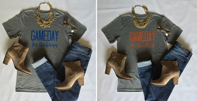 College Gameday Tees! Youth & Adult!