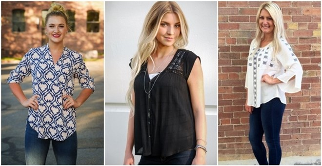 Must Have Fall Tops | 4 Styles!