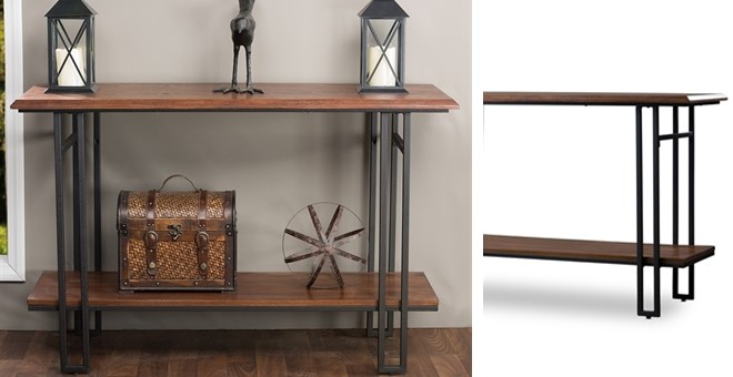 Free Shipping Wood Amp Metal Console Table Jane