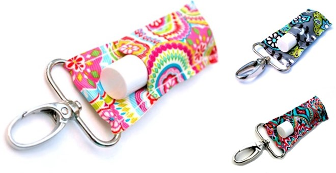 LippyClip™ Lip Balm Holder by Gabriel's Good Tidings™ | Stocking Stuffers