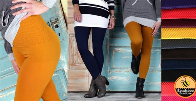Tummy Control Fleece Leggings | 8 Colors!