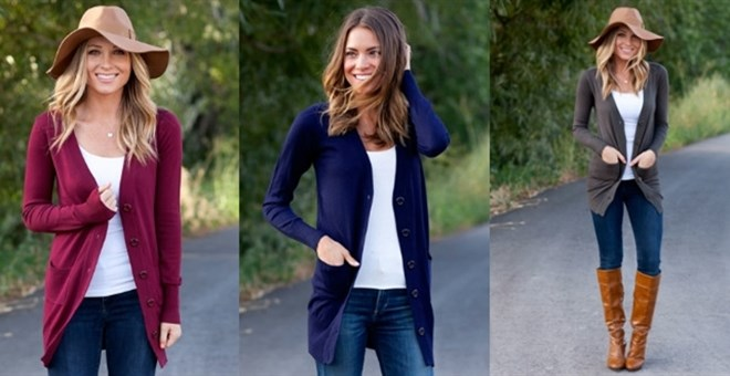 Fall Everyday Button Cardigan!