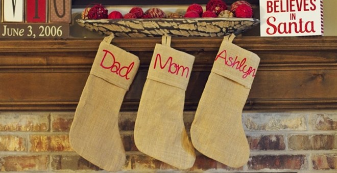 Personalized Christmas Stockings / 9 Options