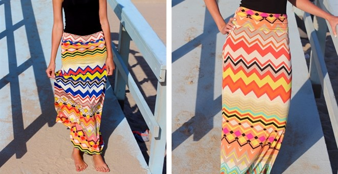 Diamond Chevron Maxi –S-3XL!