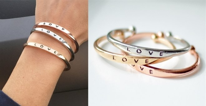 """LOVE"" Bracelets 