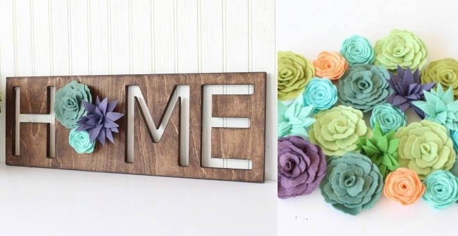 Home & Love Succulent Signs