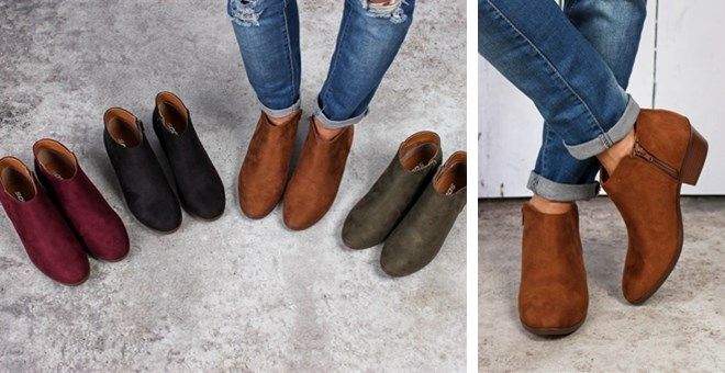 Ankle Booties | 4 Colors