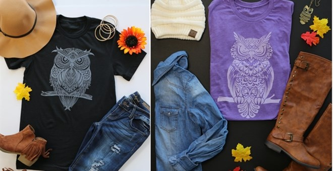 Owl Graphic Tees | S-XL | 8 Colors!