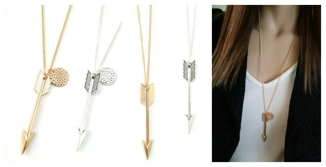 Long Arrow Necklace
