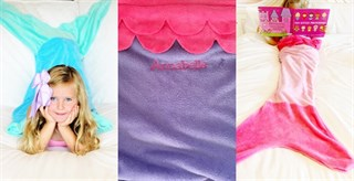 Personalized Mermaid & Shark Tails / 6 Colors!