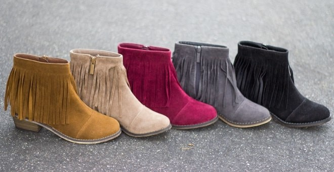 Fringe Ankle Booties | 8+ Options