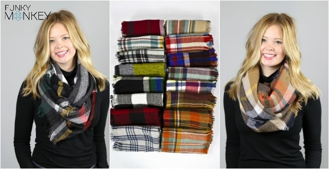 Infinity Blanket Scarf Blowout | 12 Options