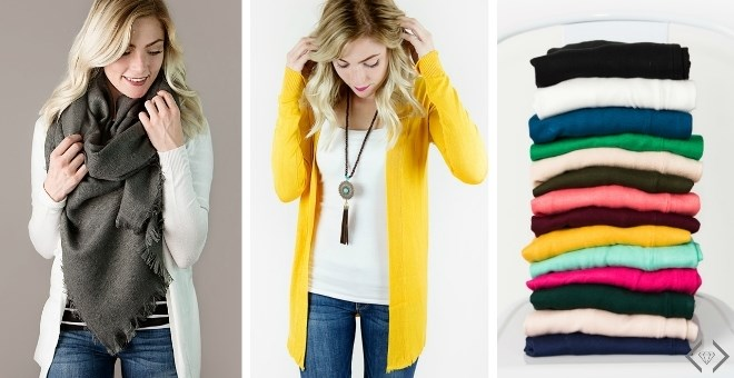 Soft Open Front Cardigans | Up to 3XL | 17 Colors!