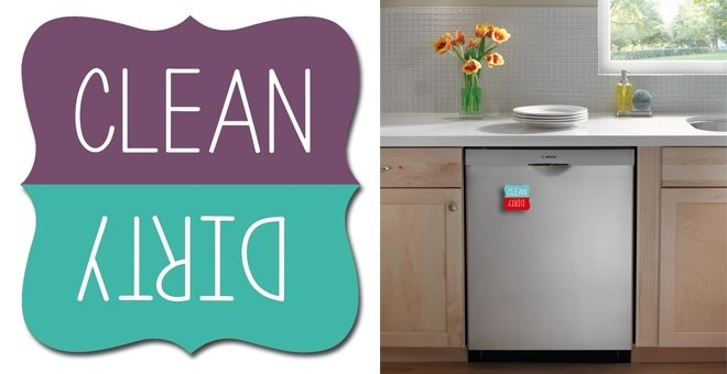 Clean Dirty Magnets For Dishwasher Dishwasher Clean or Dirty Magnets | 3 Colors | Jane