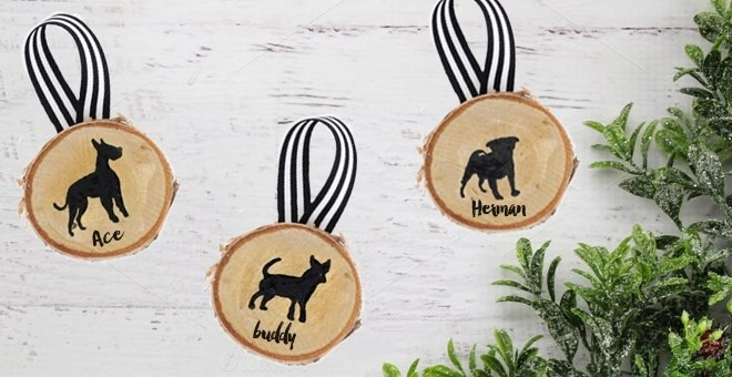 Personalized Dog Ornaments Breed