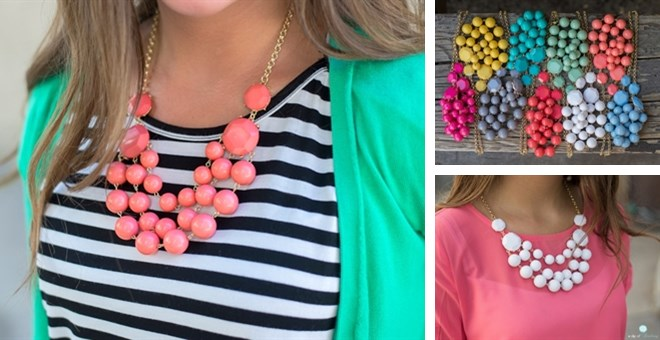 The Perfect Bauble Necklace! – 9 Colors!