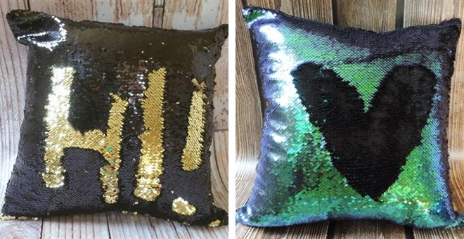 Mermaid Sequin Pillow Covers |  Lots Of Colors!