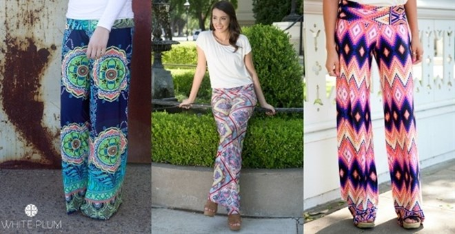 White Plum's Palazzo Pants! 8 Styles Available!