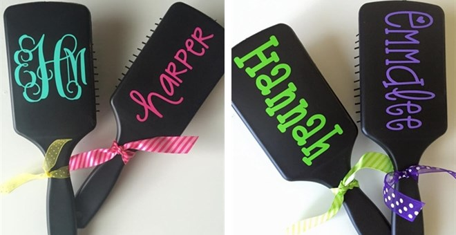 Personalized Paddle Hairbrush