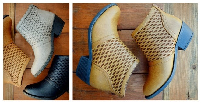 Perforated Bootie | 3 Colors