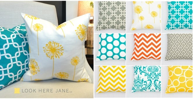 Pillow Covers Fresh And Bright Jane