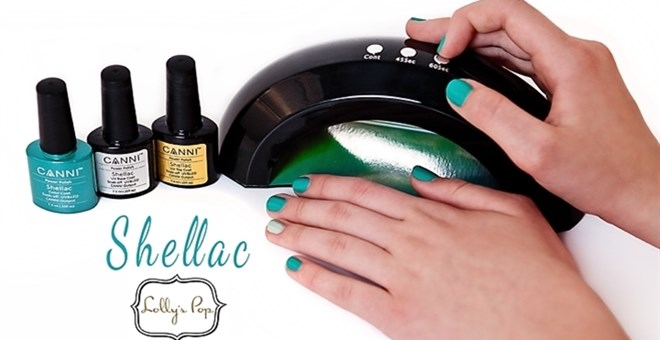 CANNI Shellac/Gel Nail polish Kit by Lolly's Pop