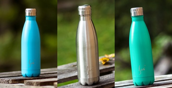 Stainless Steel Insulated Water Bottle 17oz 500ml Jane
