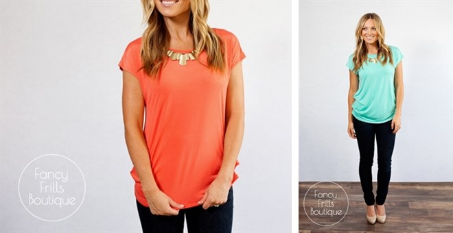 Summer Slouch Top!