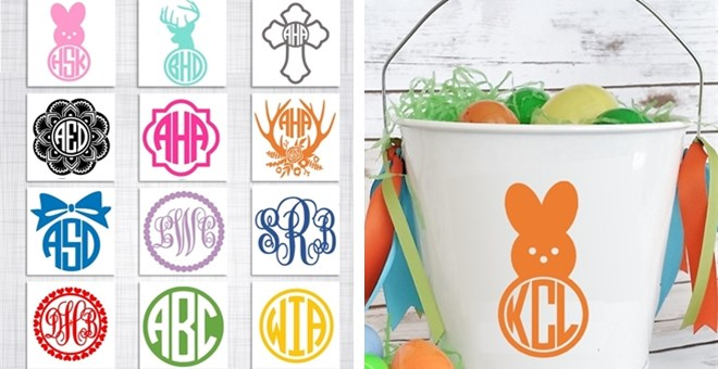 "3"" Monogram Decal 