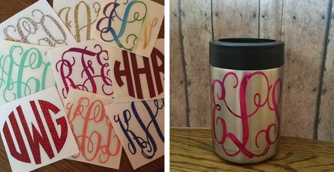 DIY Personalized Decals | Set of 2