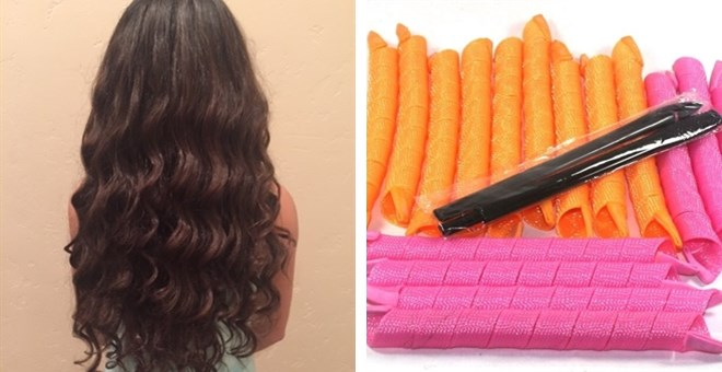 Extra Long Hair Curlers | For Long Hair