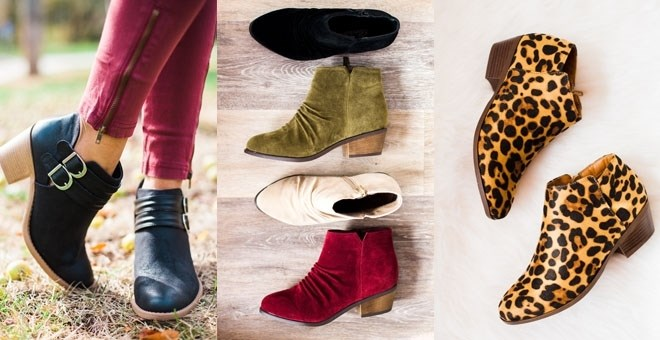 Bootie Blowout | 12 Styles