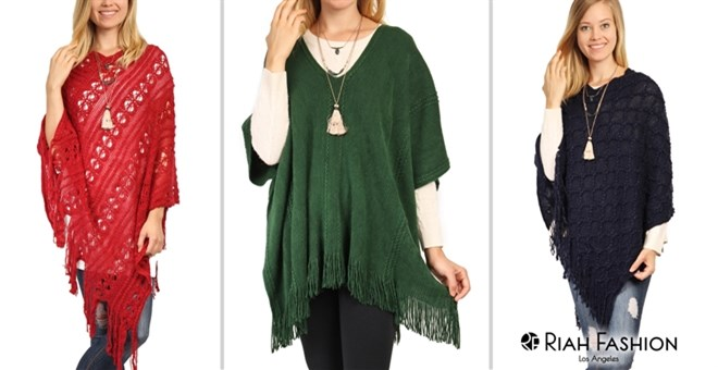Winter Poncho Blowout | 3 Styles!