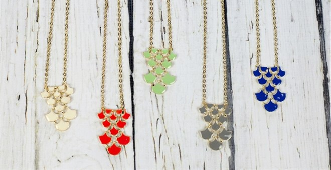 The Lucy Pendant!!! – 11 Colors!