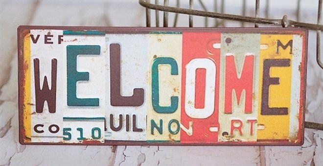 License Plates Home Decor Signs!