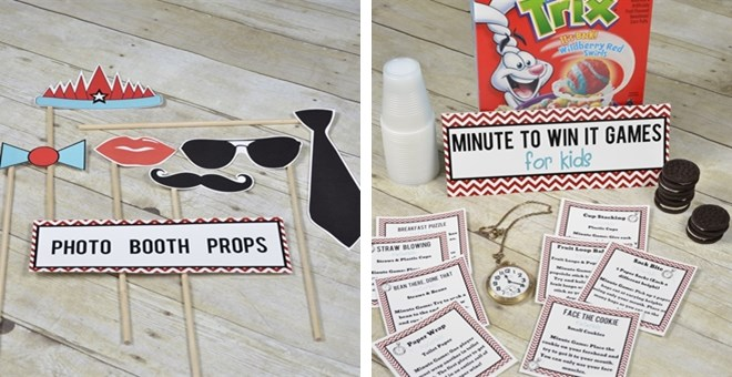 New Year's Party Kit for Kids