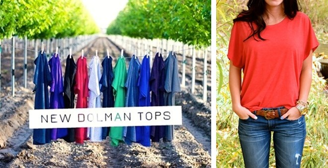 Perfect Dolman Tri-Blend Top Fit