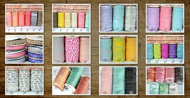 Elastic by the YARD - .99 a yard