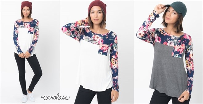 Floral Paneled Tunic