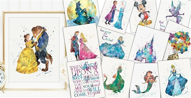 Simply Enchanted Character Art Prints