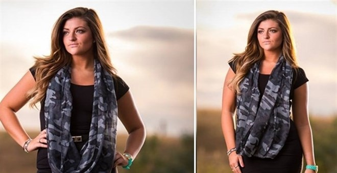 Chic In Camo Infinity Scarf Jane