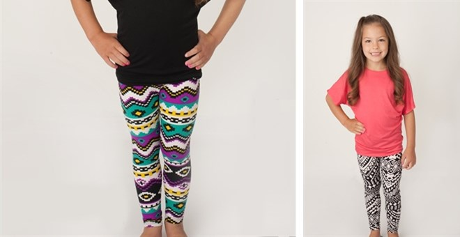 Girls leggings -  13 prints!
