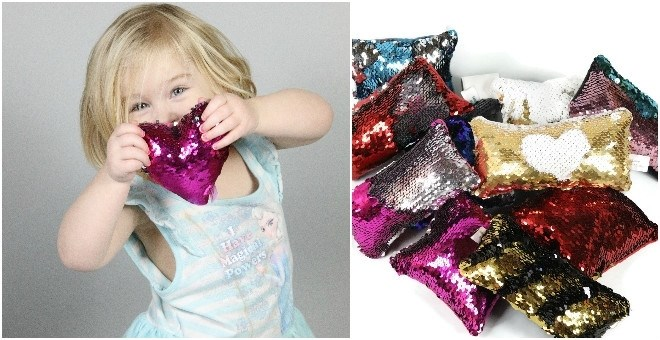 Mini-Mermaid 'Fidget' Pillows
