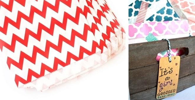 Paper Party Bag Inventory Clearance!