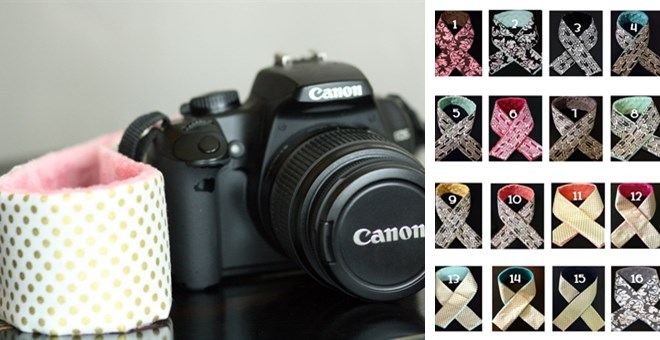 HUGE BLOWOUT Pricing!  Camera Strap Slipcovers