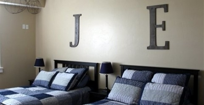 Thick Wooden Decorative Letters - 30 Inches Tall